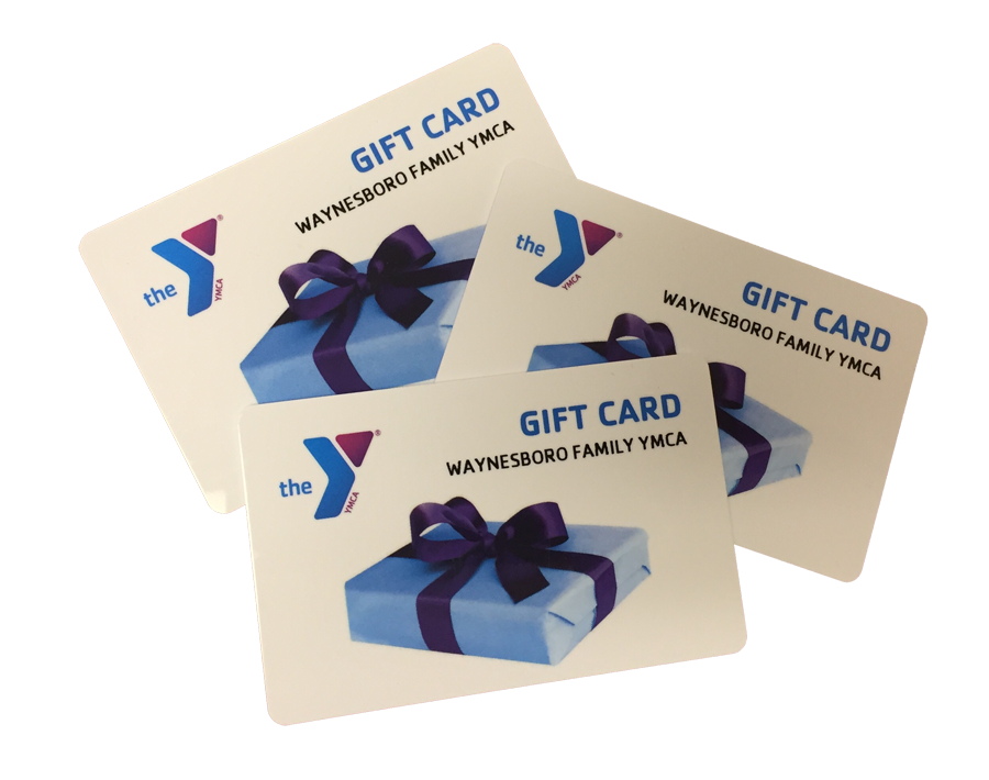 72f148dbb21 Gift cards may be purchased any time in  25 increments and used for any  service the Y offers... membership