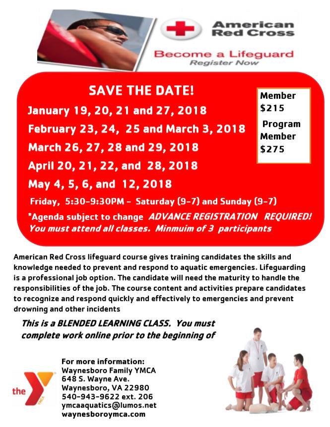 ef281db535e Become a lifeguard - Waynesboro Family YMCA   Waynesboro Family YMCA