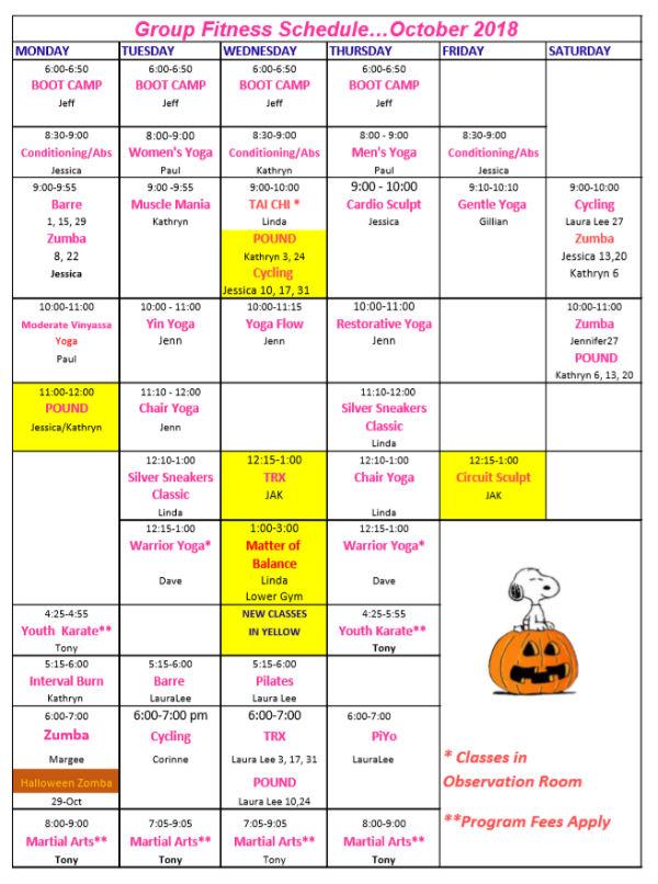 Group Fitness Classes Waynesboro Family Ymca Waynesboro Family Ymca
